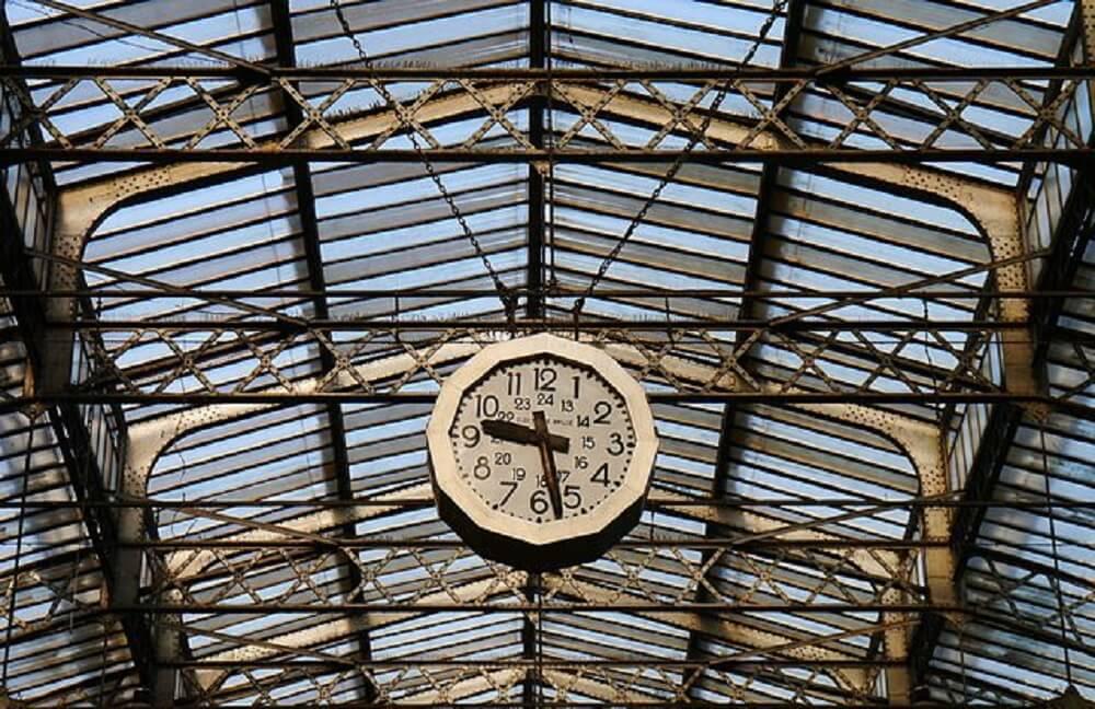 Horloge, gare de l'Est, Paris