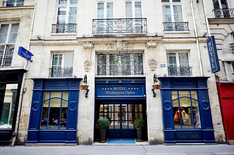 5 h tels de charme paris for Hotel de charme paris