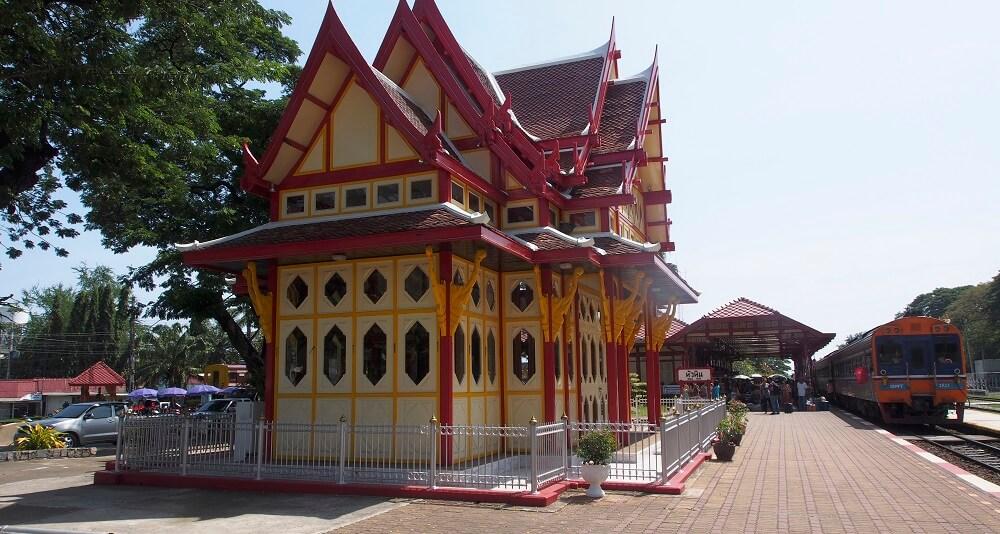Station Hua Hin, Thaïlande