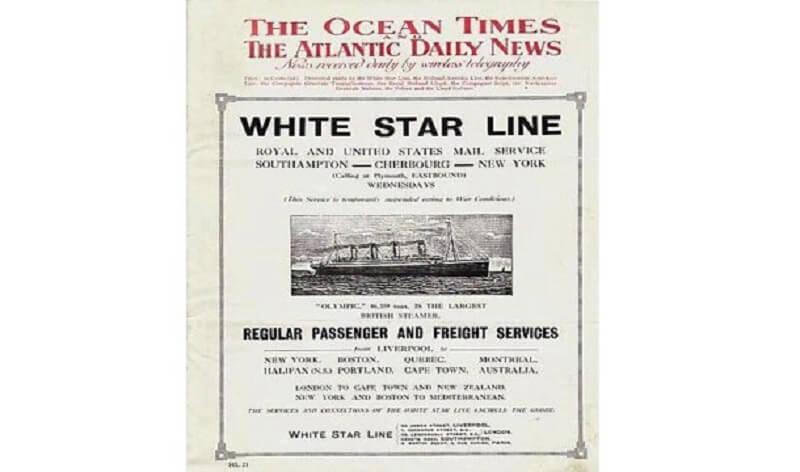 journal, titanic