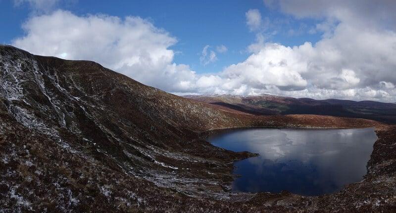 Lac Ouler, Montagne, Irlande