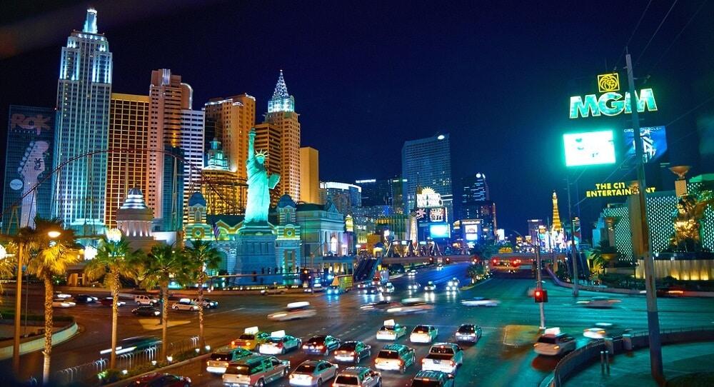 Las Vegas Strip, Lumières