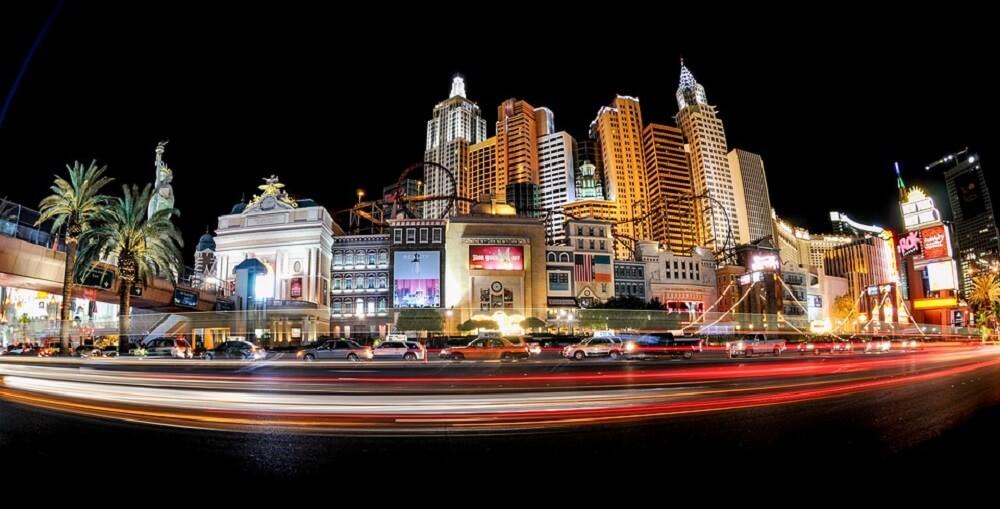 Las Vegas Strip, Nuit