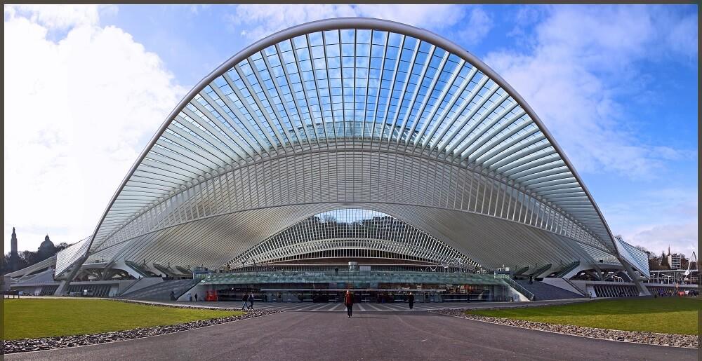Gare de Liege-Guillemins, Belgique