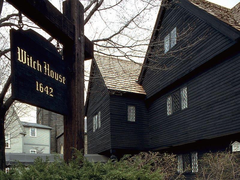La maison des sorcières de Salem de Salem, dans le Massachusetts