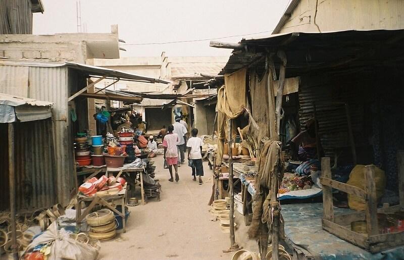 Marché de Kaolack, Sénegal