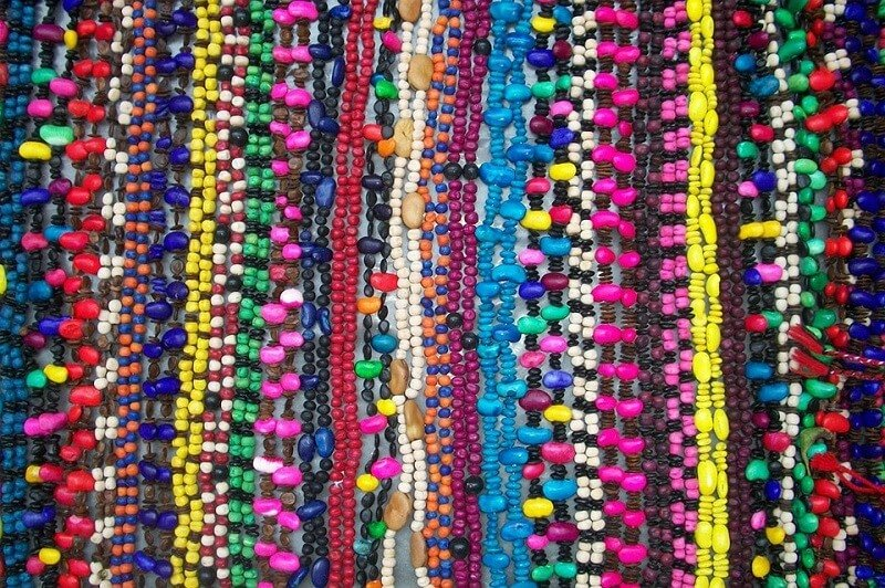 Oaxaca, colliers de perles