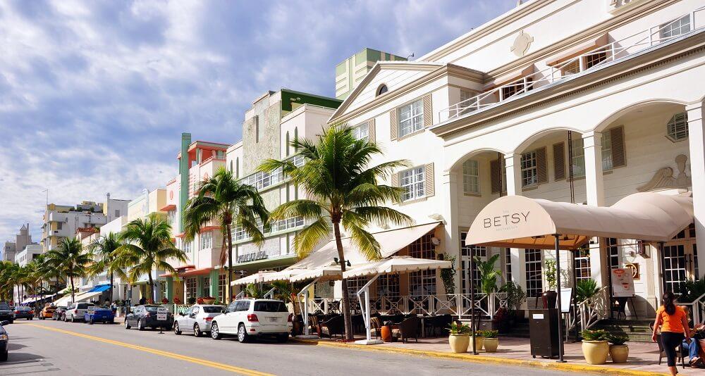Ocean Drive, Avenue, Miami