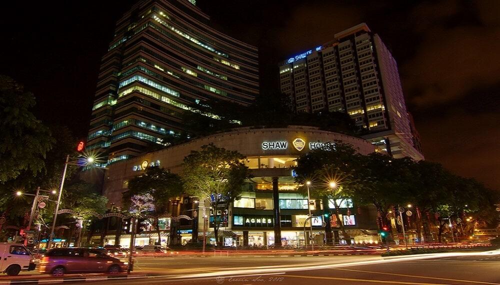 Orchard Road, Singapour, Nuit