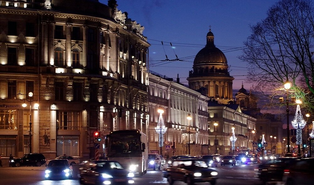 Perspective Nevskiy, Nuit
