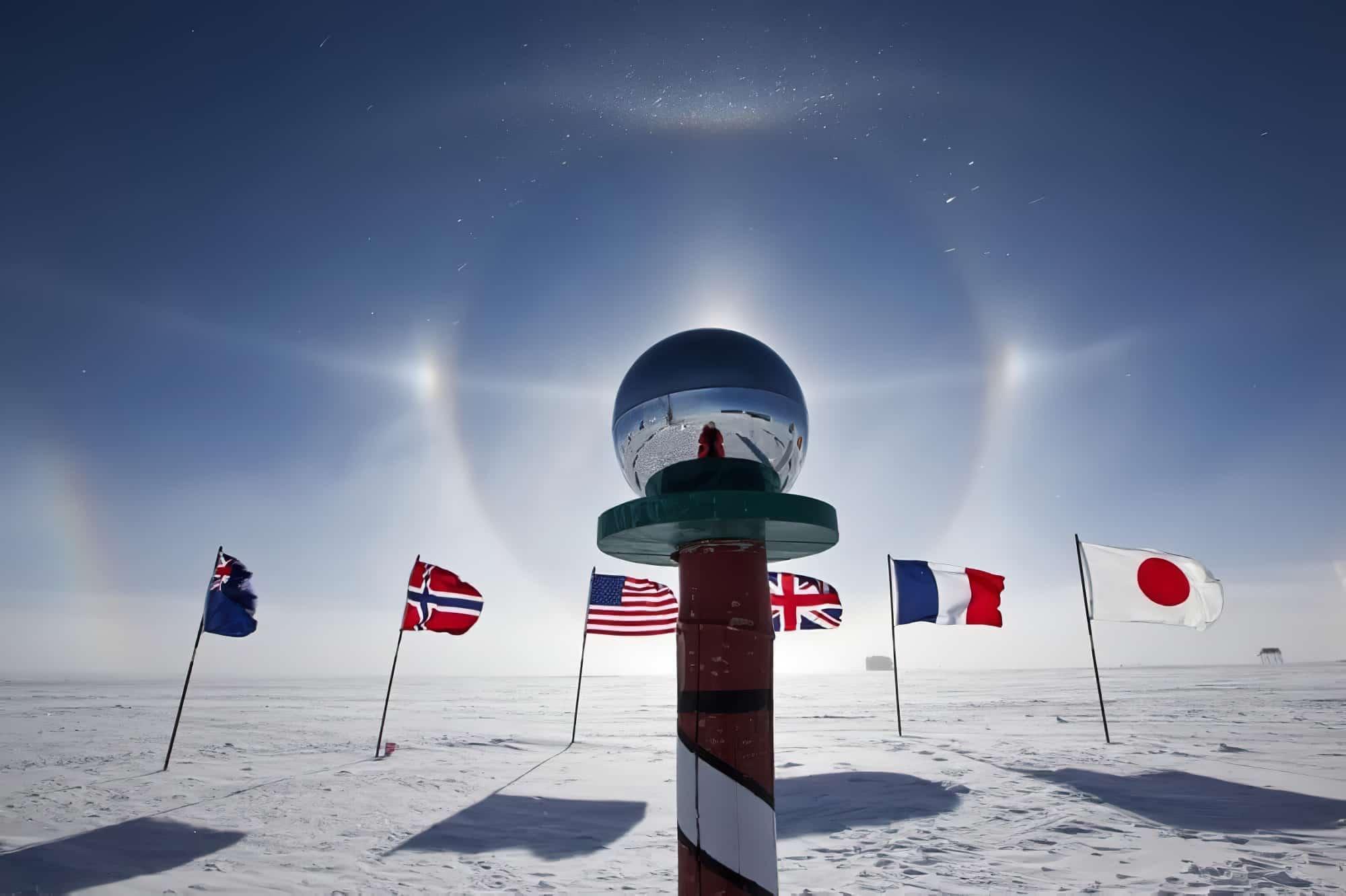 40 photos incroyables prises au Pôle Sud
