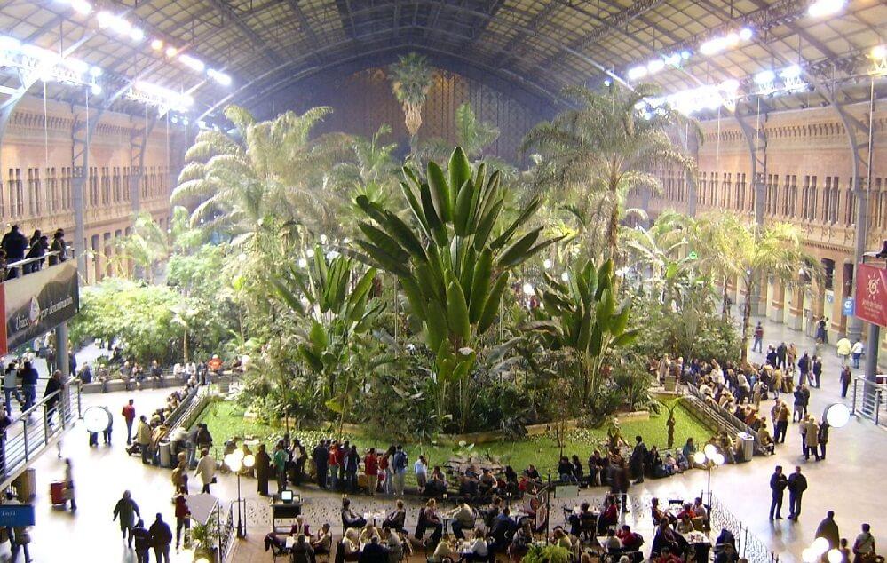 Plantes, Gare d'Atocha-Madrid