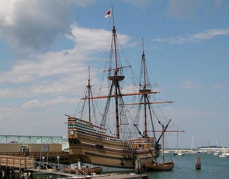 Réplique, Mayflower II, Plymouth