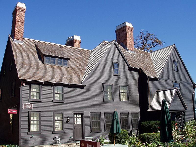 Salem, maison aux sept pignons