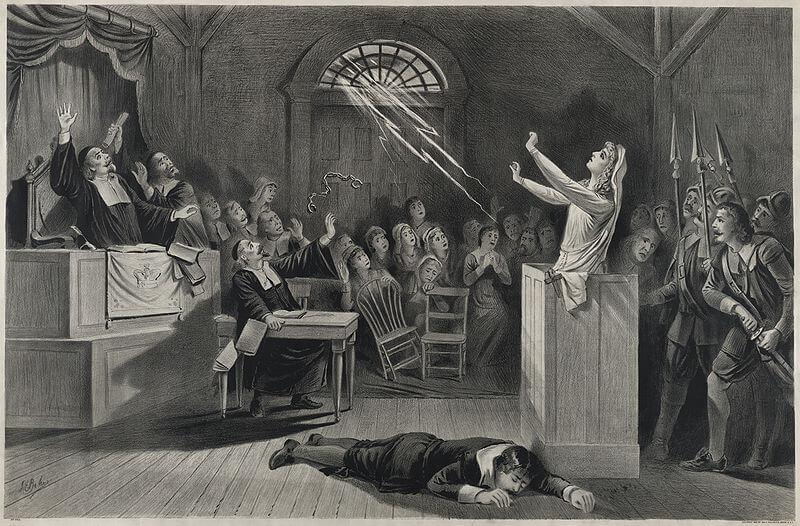 sorcières de Salem, Boston