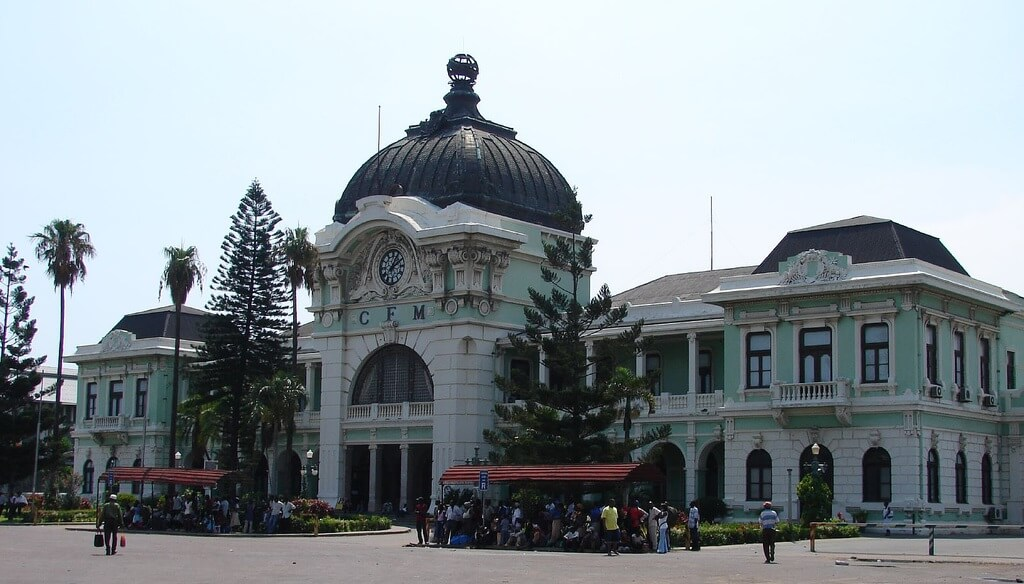 Station Maputo, Mozambique
