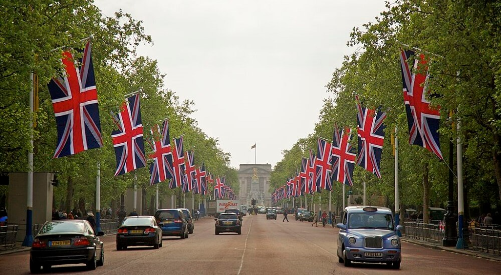 The Mall, Avenue, Londres