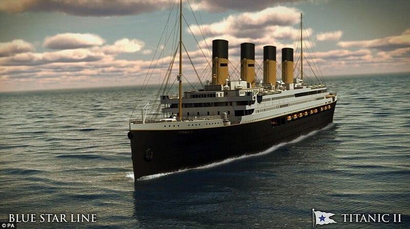 Une réplique du Titanic verra le jour en 2018