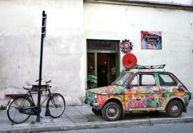 vélo à Cracovie, Kazimierz