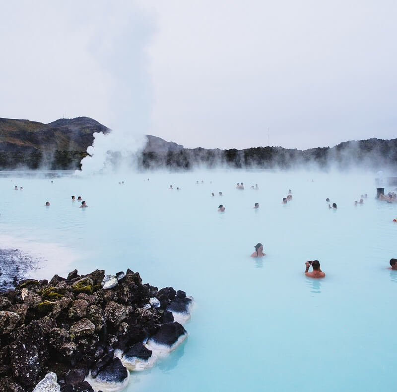 Blue Lagoon, source chaude, Islande