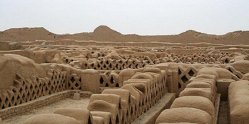 Chan chan, Site archéologique