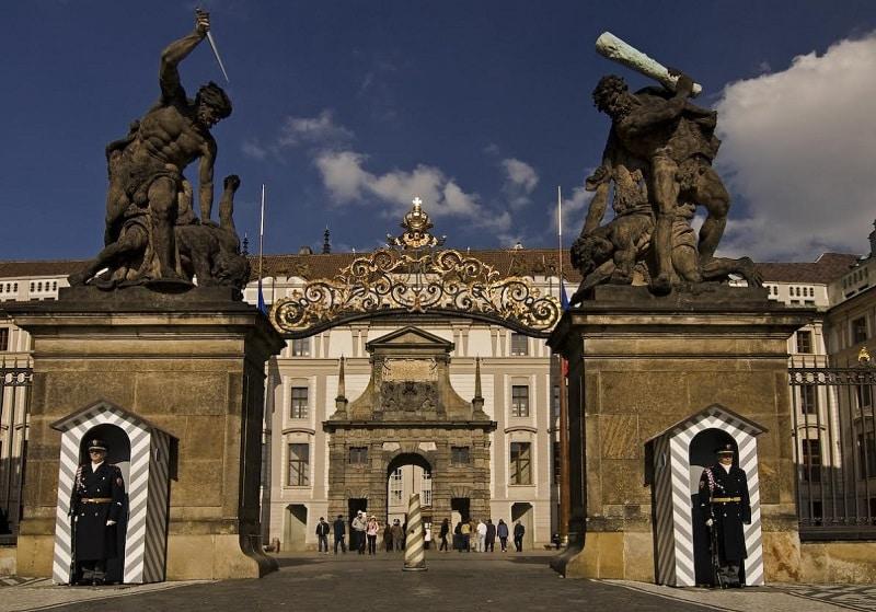 Chateau de Prague, entrée