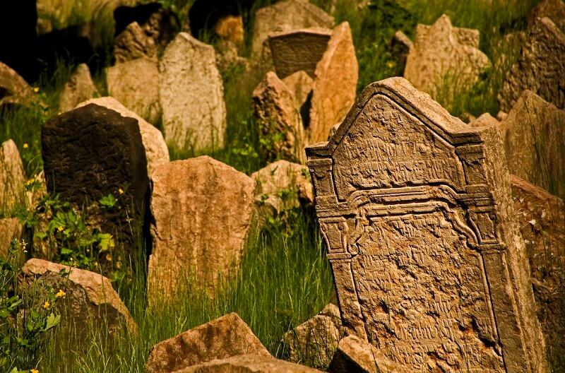 Cite Juive de Prague, cimetière