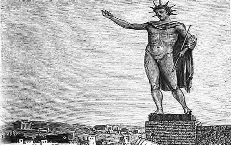 Colosse de Rhodes, Dieu du Soleil