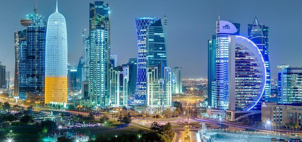 Doha, Qatar, Nuit