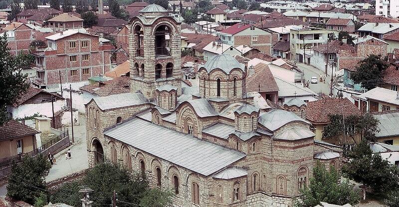 Eglise de la Vierge, Kosovo