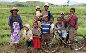 Une famille de Madagascar