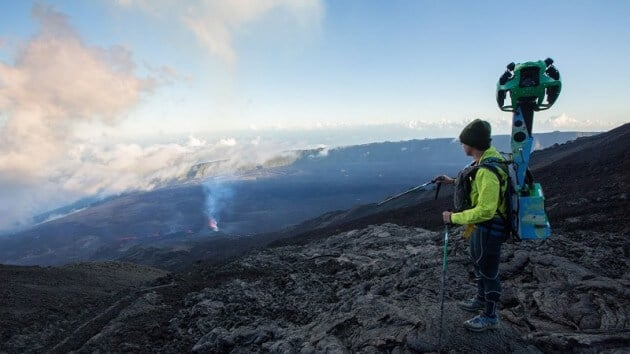 Visite virtuelle de l'île de La Réunion avec Google Street View