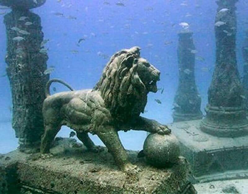 Héracléion, Egypte, ville angloutie