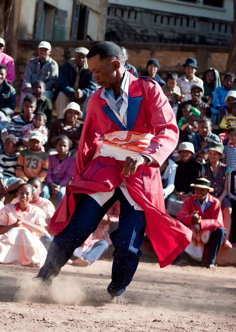 Hira Gasy, Madagascar, danseur
