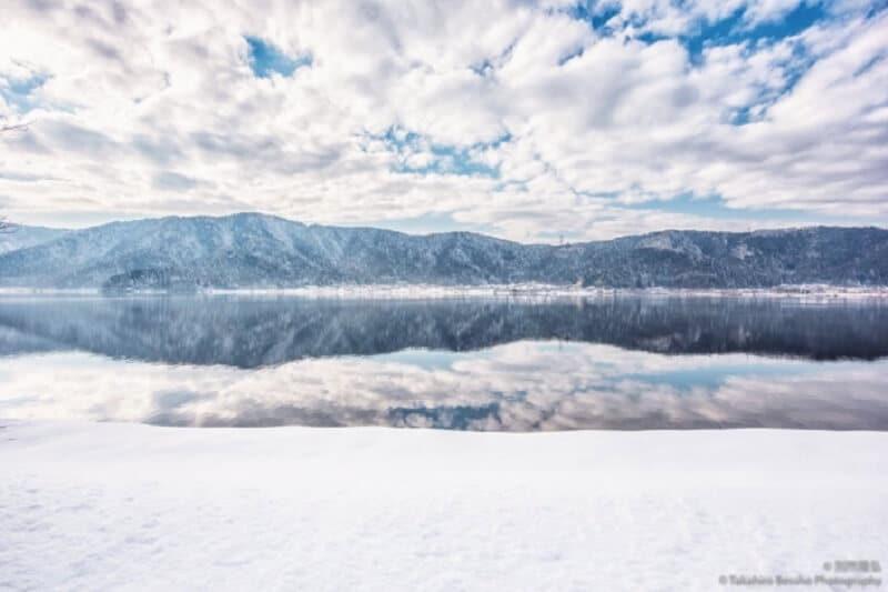 Japon, lac