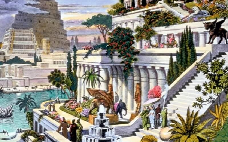 Jardins suspendus, Babylone