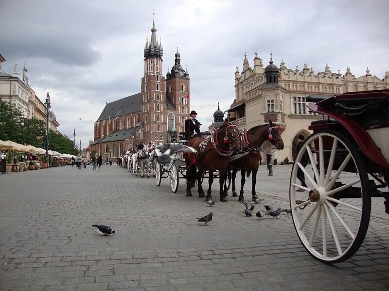 Krakow, Pologne
