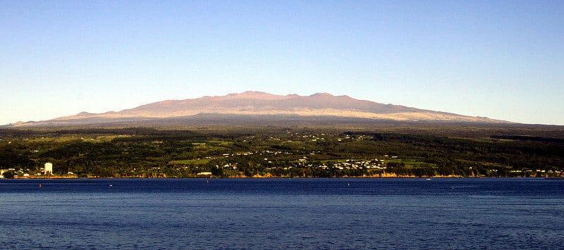 Mauna Kea, Hawaï, volcan