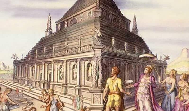 Tombeau de Mausole, Carie