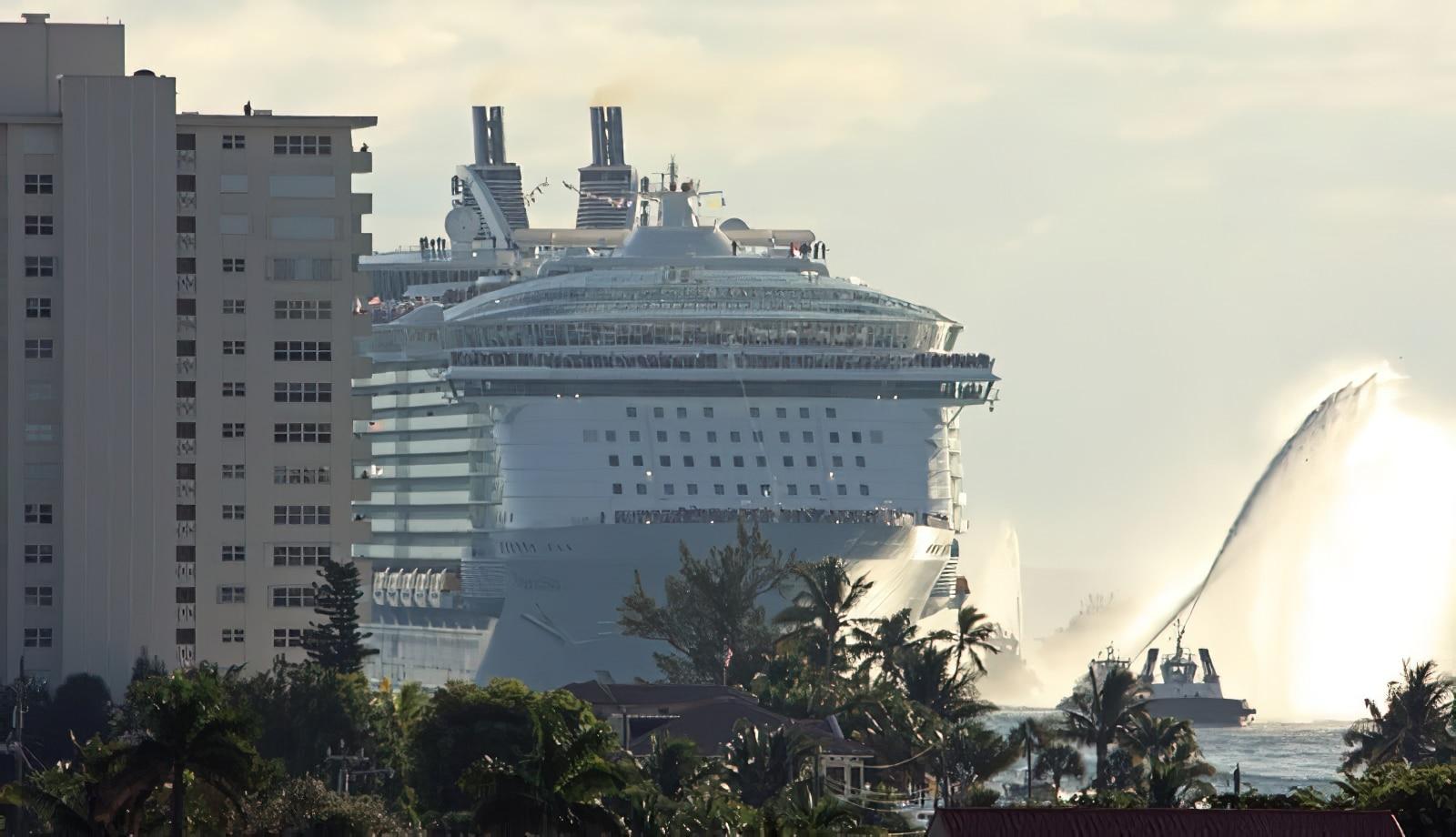 Les chiffres fous à bord d'un des plus grands bateaux de croisière au monde