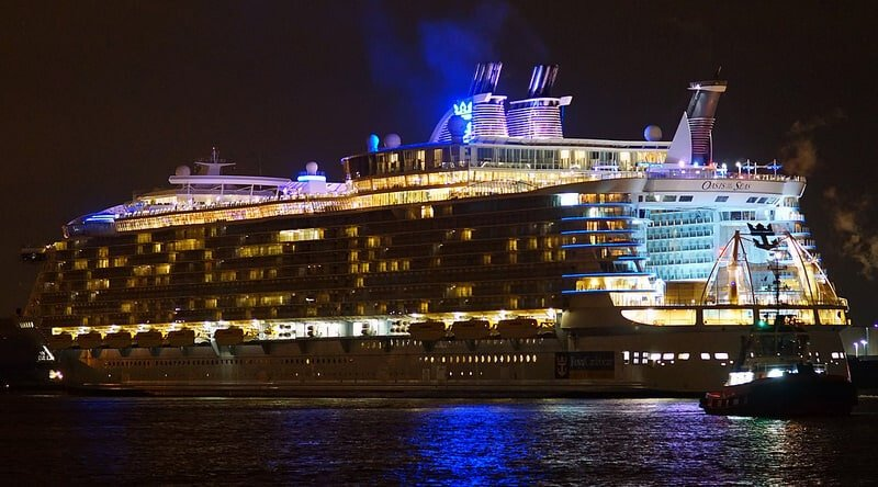 Oasis of the Seas, chiffres