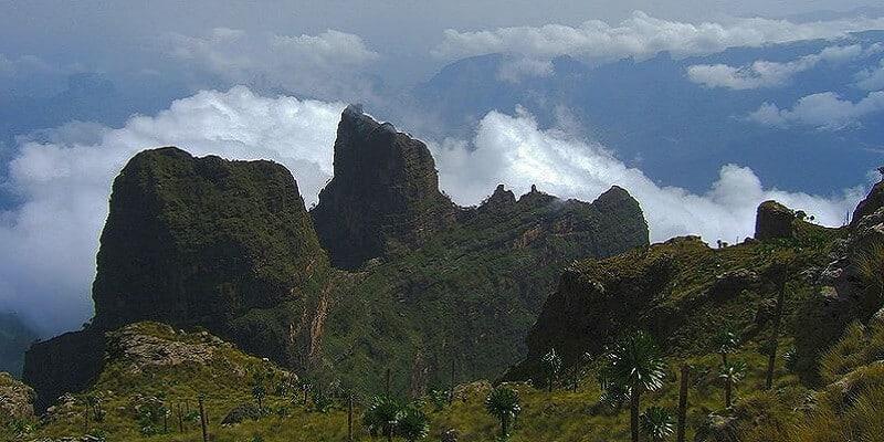Parc national, Simien