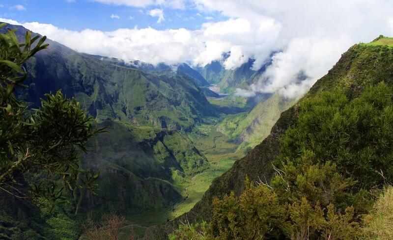 Pas de la Bellecombe, Google Street View, La Réunion