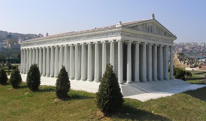 Reconstitution, Temple Artémis
