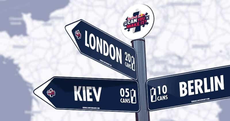 Can you make it challenge: traverser l'Europe avec 24 canettes de RedBull