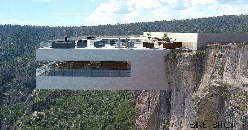 Mexique: un restaurant au dessus du vide pour ouvrir l'appétit