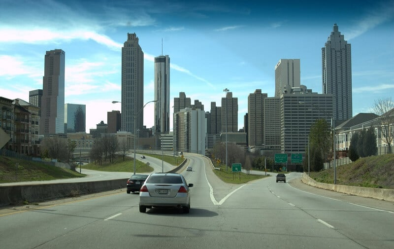 Route Atlanta