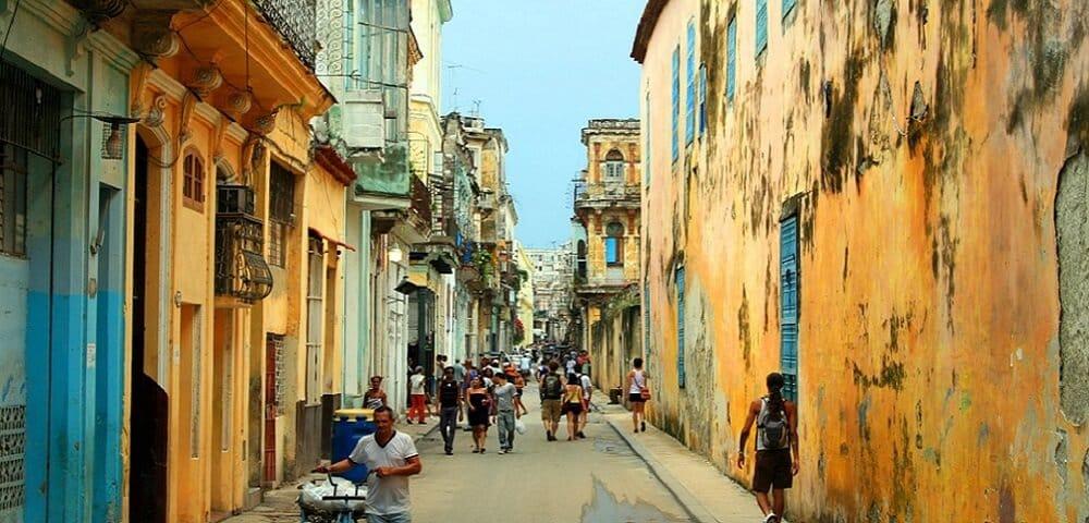 Ruelle, La Havane