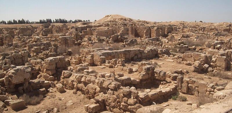 Ruines, Abou Mena, Egypte