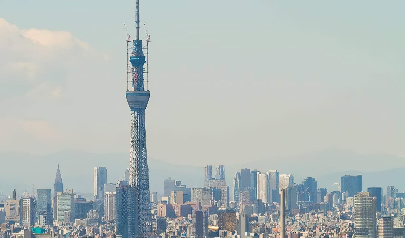 Montez au skytree le plus haut building de tokyo et for Sejour complet tokyo